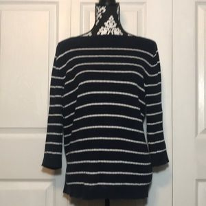 Lauren by Ralph Lauren Navy Sweater size XL
